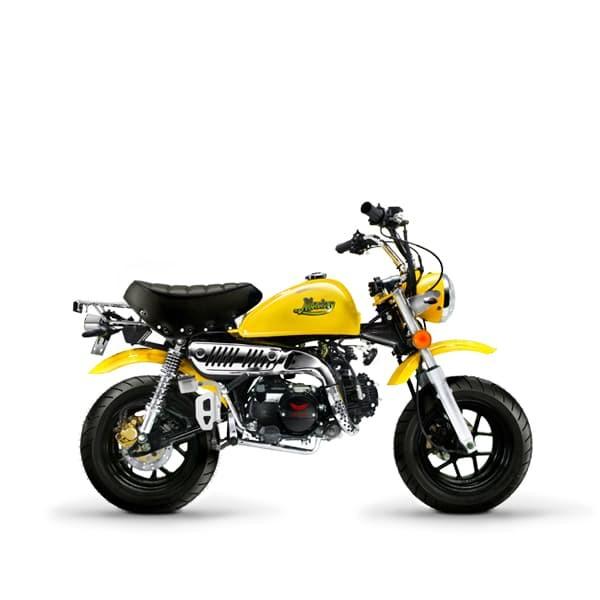 harga Gazgas monkey 110 cc sepeda motor mini - kuning Tokopedia.com