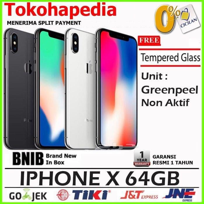 Jual GARANSI RESMI - iPhone X 64GB   64 GB Silver 5b36937ee6