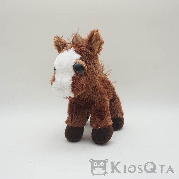 Jual boneka kuda lucu mata besar horse coklat des - 25 - kiosqta ... eab620494c