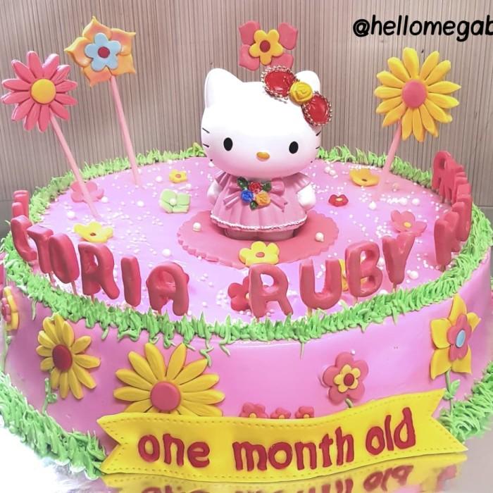 Jual Kue Ulang Tahun Hello Kitty Custom Enak Murah Jakarta Barat Megabite Tokopedia