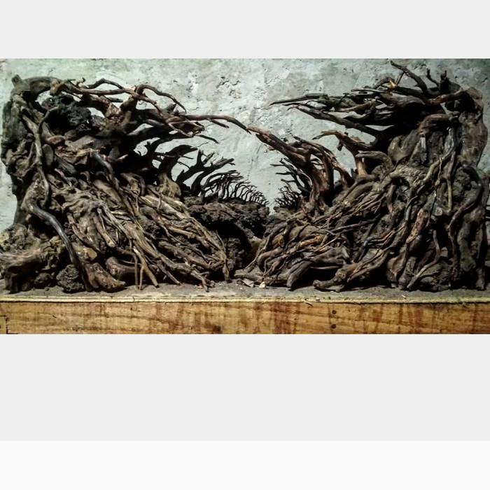 Jual Hardscape aquascape untuk aquarium 90x45x45cm akar ...