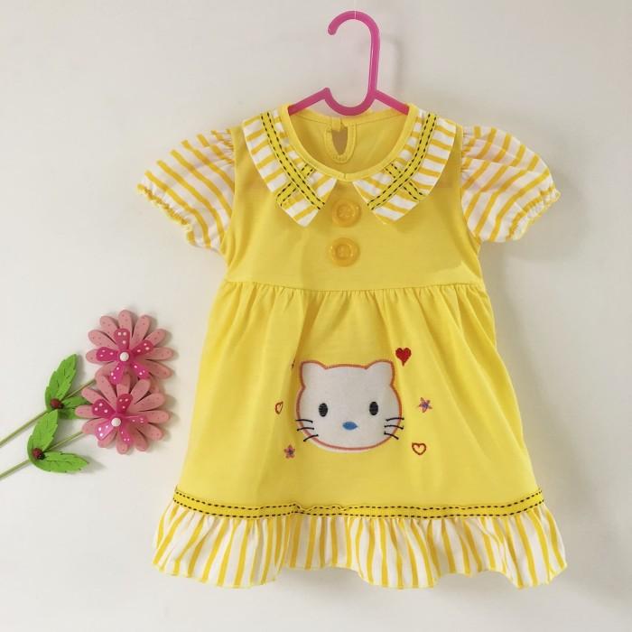 Setelan baju bayi perempuan/ Dress Hello Kitty usia 6-9 bulan/ Kitty