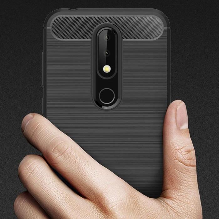 best loved da847 4cd21 Jual Case For Nokia 6.1 Plus ( X6 ) Softcase iPAKY Carbon - Hitam - Kota  Bekasi - Caselova Store | Tokopedia