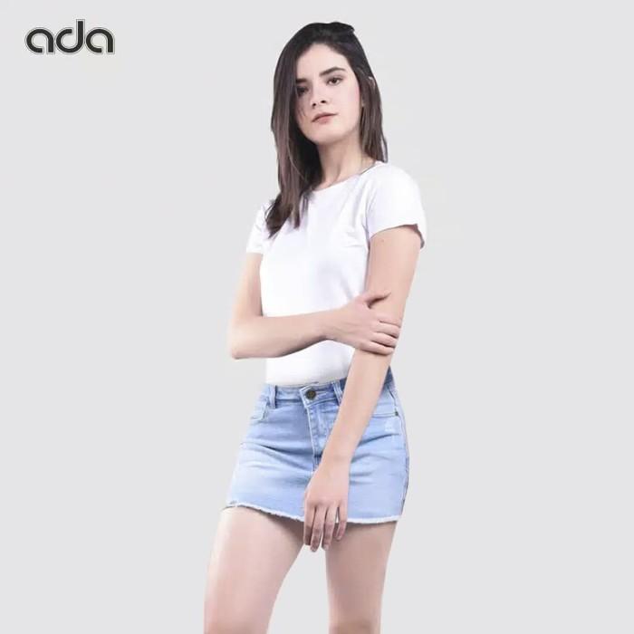 harga Ada fashion short denim jeans celana pendek jeans wanita bahan denim -