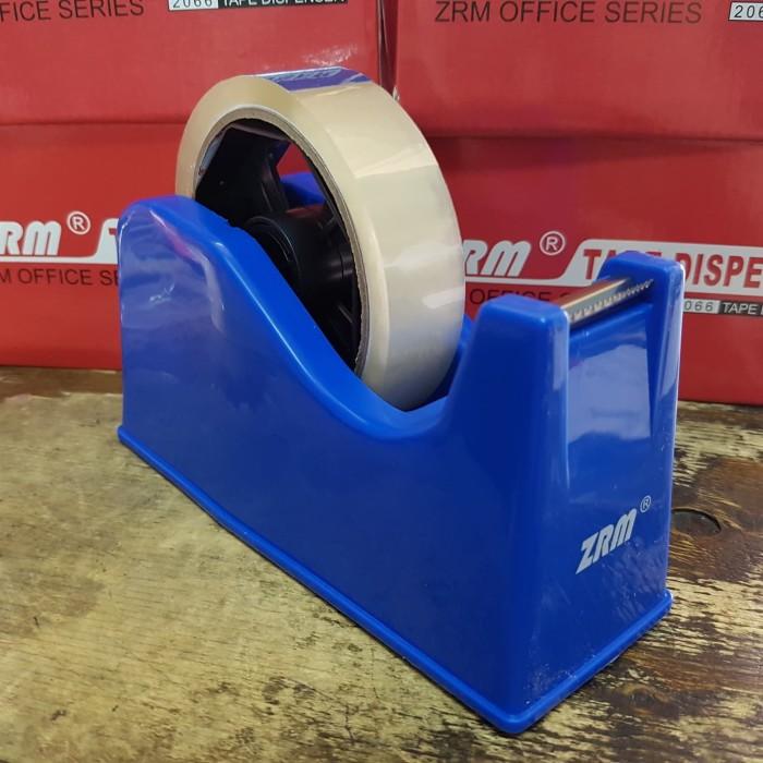 Foto Produk Tape Dispenser Isolasi Bazic / Dispenser Solatip / Alat Potong Isolasi dari Dunia Tape