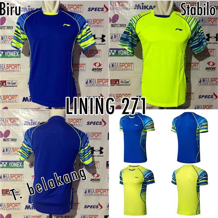 harga Baju badminton li-ning 271 import baju li-ning aayn301 Tokopedia.com