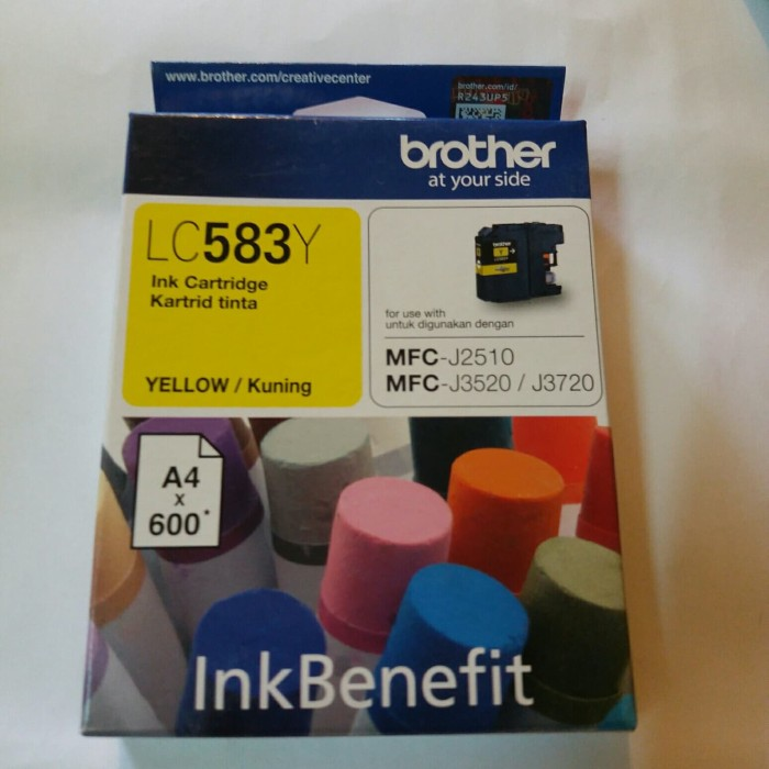 original brother lc 583 yellow