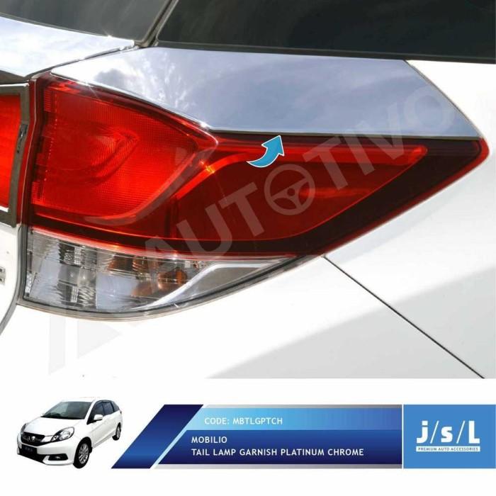 Jual Jsl Garnis Belakang Honda Mobilio Tail Lamp Garnish Platinum