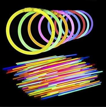 Glowstick gelang fosfor glow in the dark/ stick lampu / lampu natal