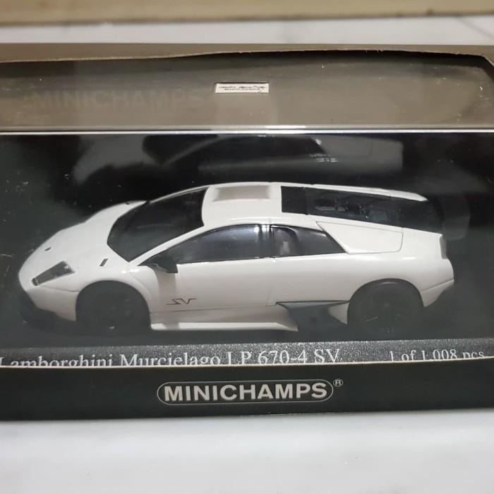 Jual Minichamps Lamborghini Murcielago Lp 670 4 Sv White