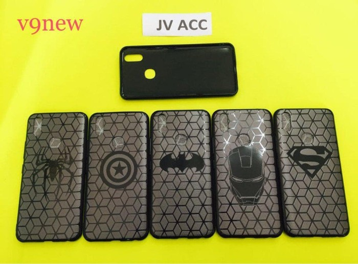 Best SOFTCASE SUPERHERO VIVO V7 V7 PLUS V9 Y53
