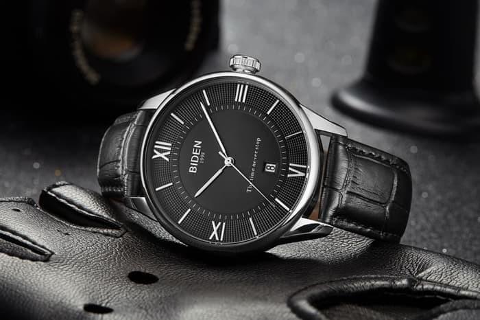 Jual jam tangan Biden Pria wanita fashion leather band sport quartz ... 436a95e22b