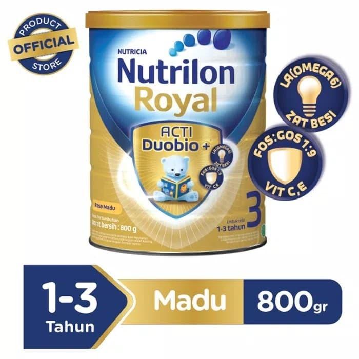 Foto Produk Nutrilon royal 3 madu 800 gr dari Palem-mart