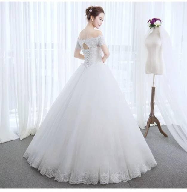 Jual Korea Style Wedding Dress Gaun Pengantin Wanita 2019 Murah Baju Baru Kab Bandung Lin S Shop S Tokopedia
