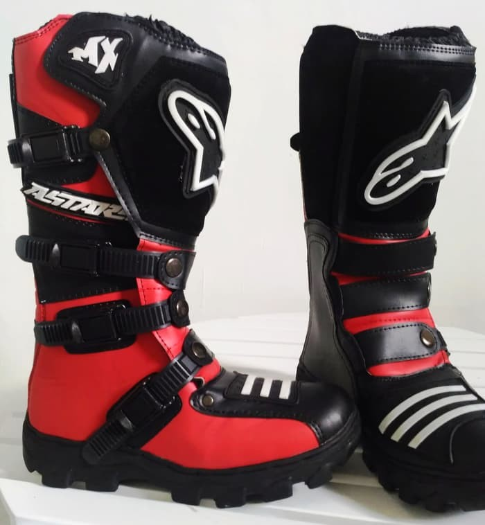 Jual Sepatu Motor Alpinestar Touring cross trail safety racing biker ... 7e5127c228