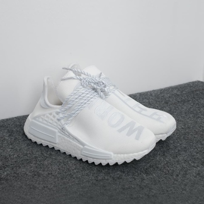 buy popular 9a13d 74913 Jual Pharrell x Adidas NMD Hu Trail Black Canvas - Putih - Kota Surabaya -  Thesneakers kingdom | Tokopedia