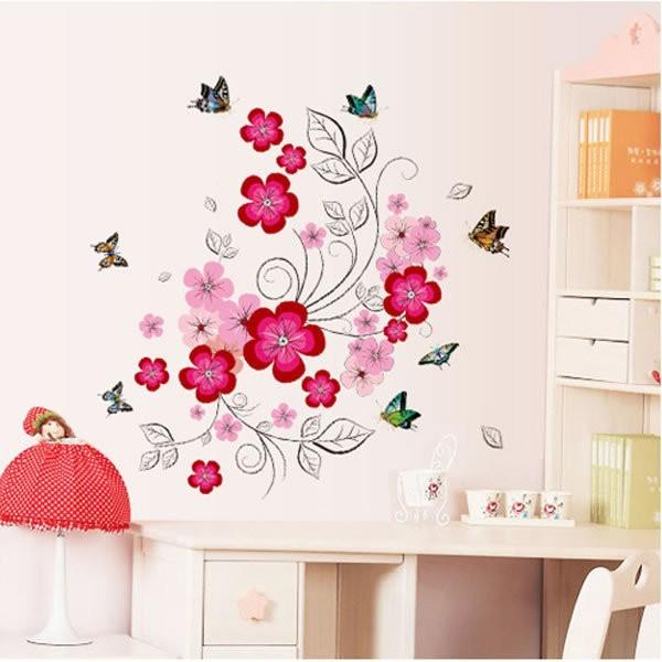 Jual Wall Sticker Dinding Reliza Wall Sticker Bunga Sakura Flower