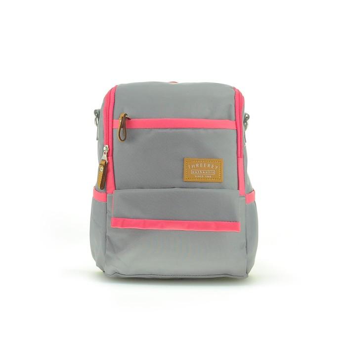 Tas multifungsi sling bag – backpack THREEREY NIKA TF 40110 - Cokelat Muda aa0f5a484d