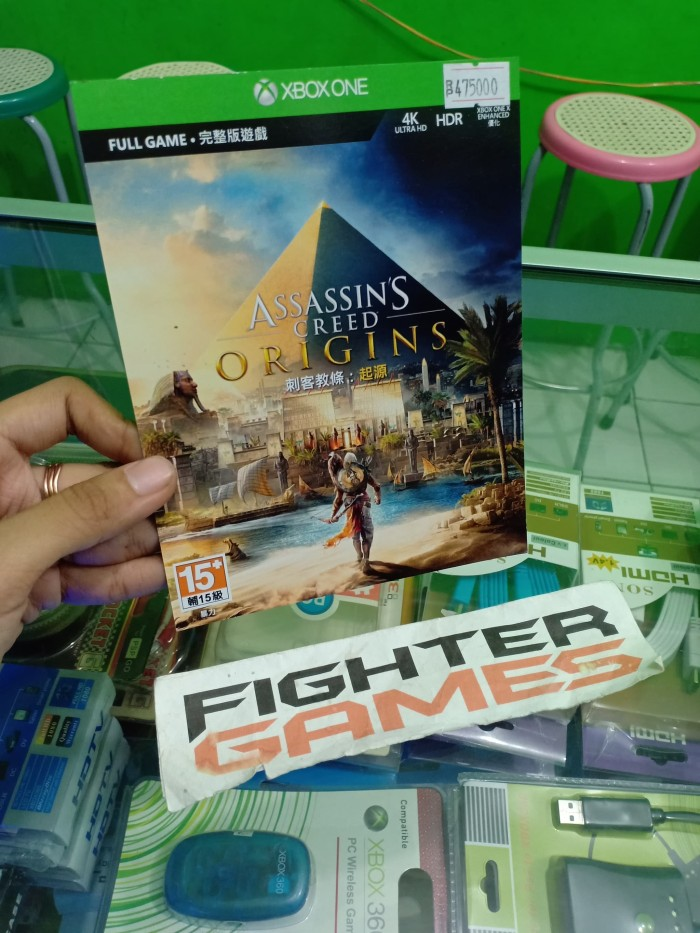 Jual Redeem Code Xbox One Assassins Creed Origins Kab Sleman