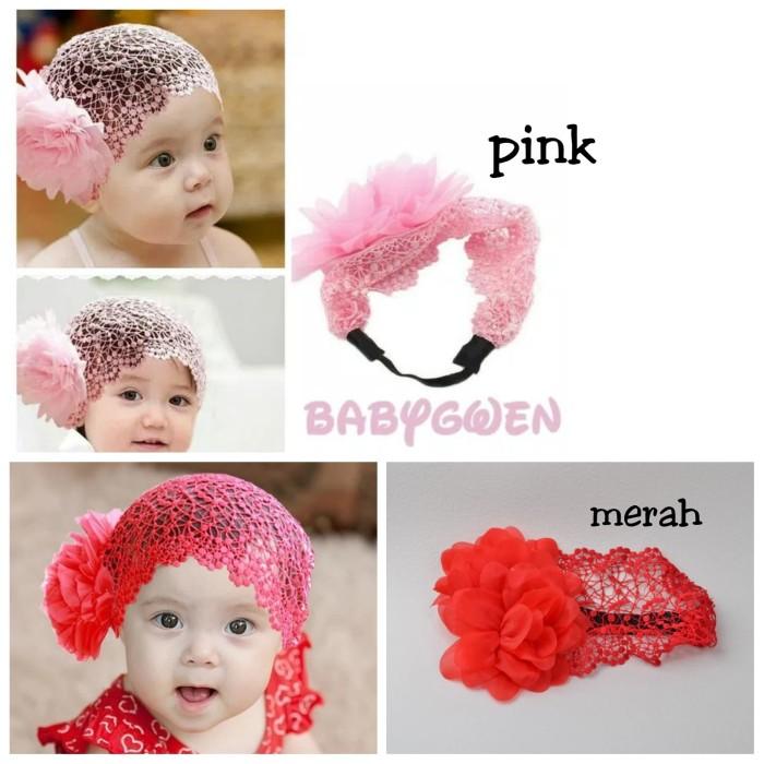 harga Bandana anak bunga pink Tokopedia.com