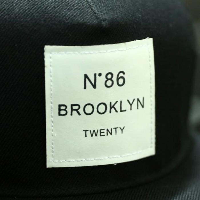 4359a28e758f6 Jual Topi Snapback N86 Brooklyn Twenty - White Promo - Barbara ...