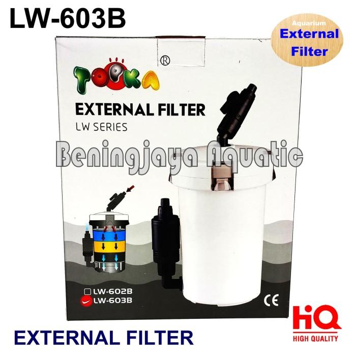 Jual TOPKA LW-603B Filter External untuk Aquarium dan ...