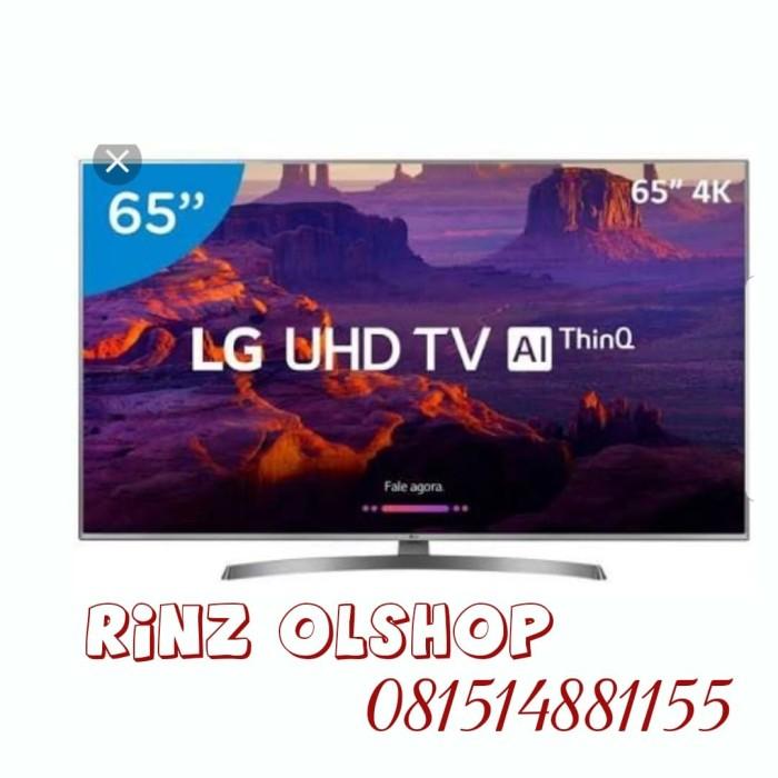 harga Led tv lg 65 inch smart tv uhd ai thinq magic remote 4k lg 65uk6540 Tokopedia.com