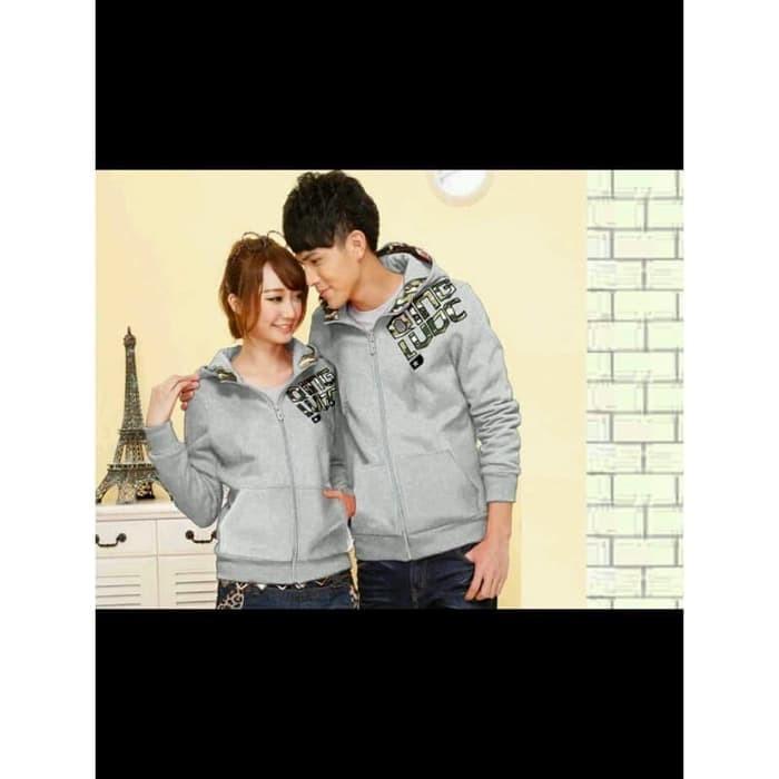 Jacket Qing Army Abu Premium / sweater couple / jaket couple Berkualit