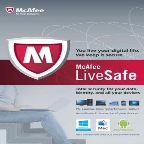 Jual Original McAfee LiveSafe 2018/2019 UNLIMITED DEVICES 1 Tahun - Kota  Semarang - Dealprice | Tokopedia