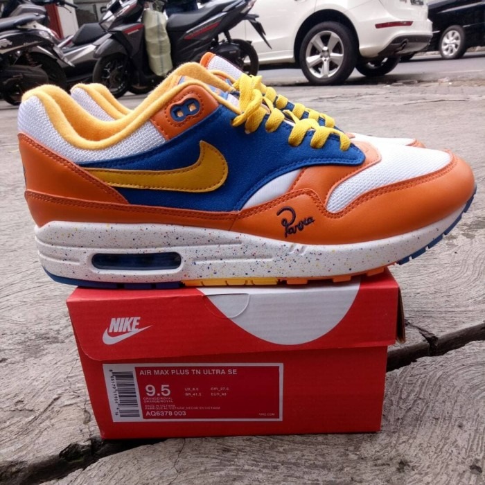best cheap 9f9af f1d17 Sepatu Nike Airmax 1 Albert Heijn x Parra BNIB Perfect Quality