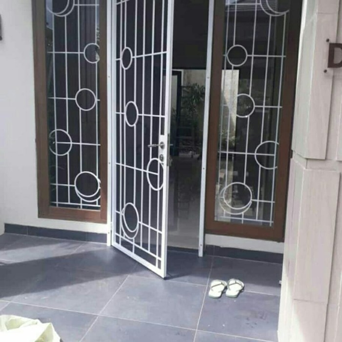 Jual Teralis Jendela Plus Pintu Kasa Nyamuk Kota Bekasi Karya