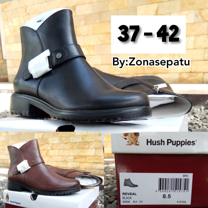 Jual Sepatu Boot Hush Puppies Original-Hus puppies boot kulit asli ... 67aecacb5e