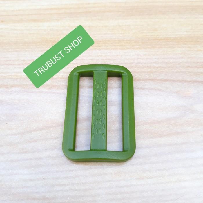 harga Ring jalan geser tali tas plastik acetal uk 3.8cm hijau tni jual/12pc Tokopedia.com