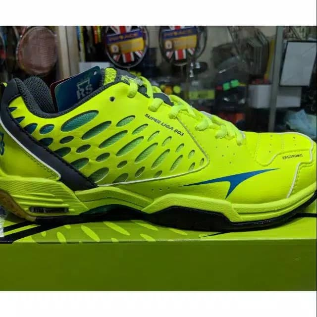 Jual Sepatu Badminton RS Superliga SL 803 Original - Adinda fashion ... 15f0a4e892