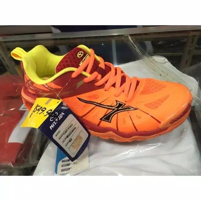 Jual Sale! Sepatu Voli Mitzuda Light Star 2 Orange Red + Bonus Kaos ... c788113799