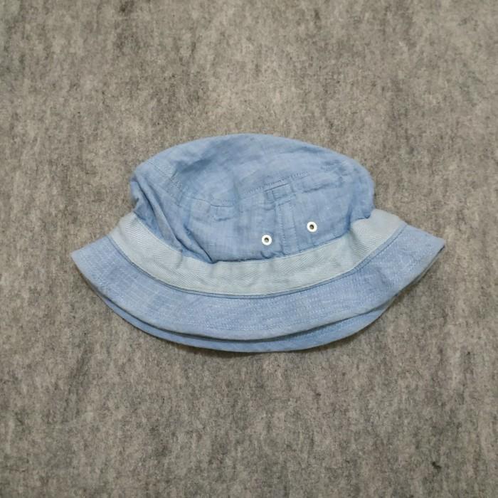 45f1e35d08491 Jual Topi Bucket. Bucket hat Uniqlo biru ( Second original ) - Kota ...