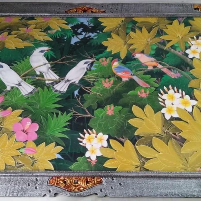 harga Lukisan kanvas burung 85x135 cm Tokopedia.com