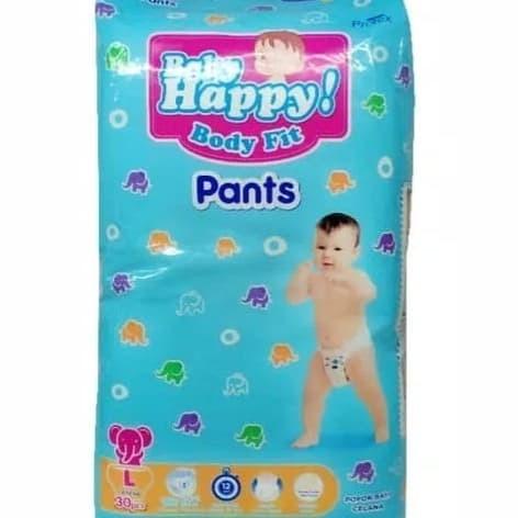 harga Baby happy pants l 30 pcs Tokopedia.com