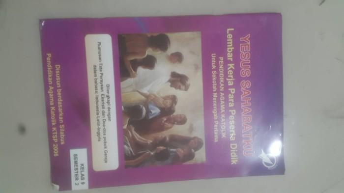 Jual Buku Paket Agama Katolik Kelas 9 Kab Bogor Nataniya Shop Tokopedia