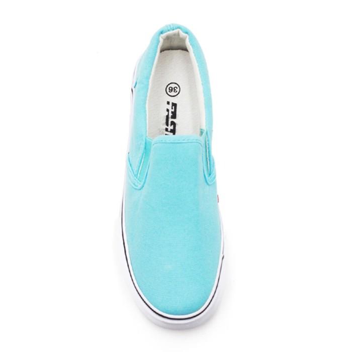 Faster Sepatu Sneakers Kanvas Wanita 1603 - 06 -Tosca Putih XJA