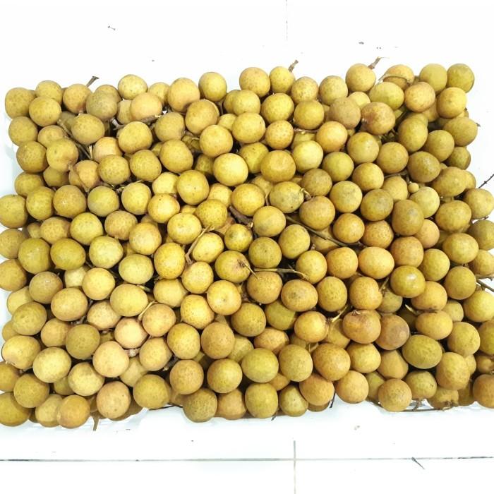 harga Promo termurah 1kg kelengkeng jumbo emas bangkok lengkeng fresh longan Tokopedia.com