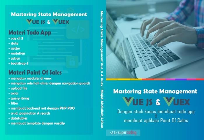 Jual Video Tutorial Aplikasi Point Of Sales Dengan Vue Js Dan Vuex - Kota  Surabaya - supercoding | Tokopedia