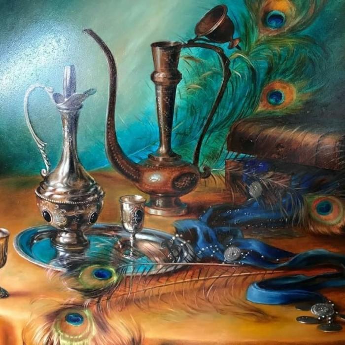 Jual Lukisan Alam Benda Kab Klungkung Handmade Painting Bali