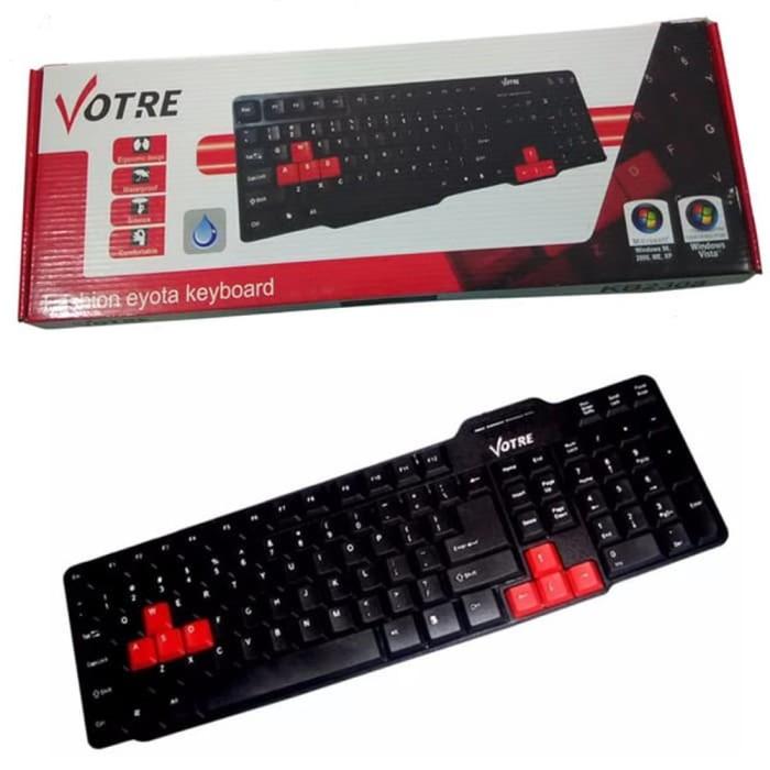 06ef5dda603 Jual Votre KB-2308 - KB2308 Keyboard USB Standard di lapak kami ...
