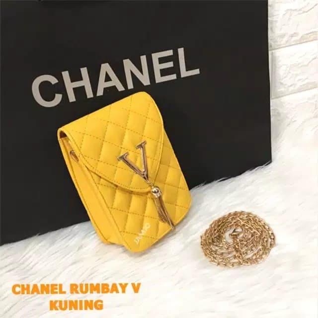 Jual tas HP pocket hp chanel murah kekinian - nursyadiah online shop ... 0d0a7f13cf