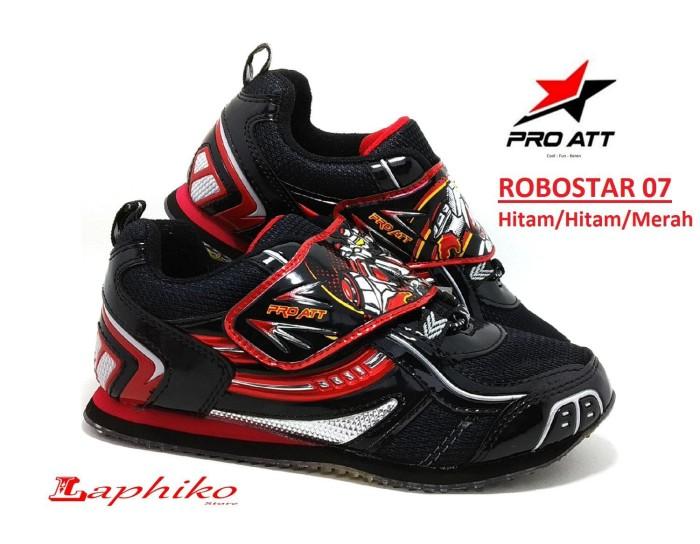 Jual Pro ATT ROBOSTAR - Sepatu Sekolah Anak Laki-Laki Model Perekat ... d0219eb167