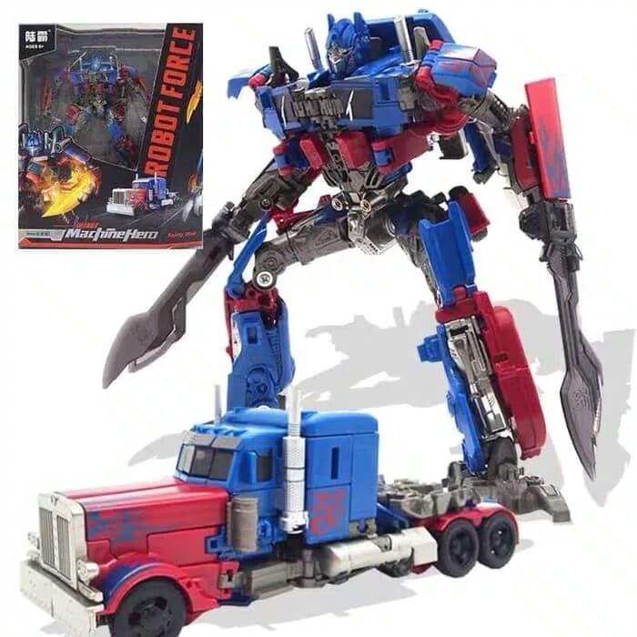 Jual robot optimus prime transformers - Kota Bekasi - RAF TOYS | Tokopedia