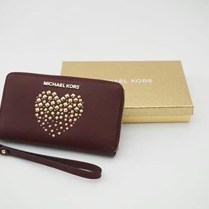 035cf26271534 Jual Dompet Michael Kors original - Mk phone wallet merlot m - Kota ...