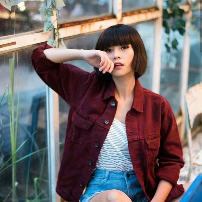 90 Model Model Jaket Levis Wanita Terbaru