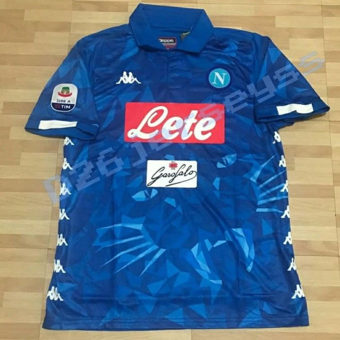 Jual Jersey Napoli home 2018   2019 OFFICIAL + Patch Serie A ... 7956875b4b461